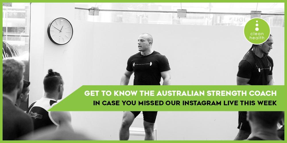 Australian strength coach